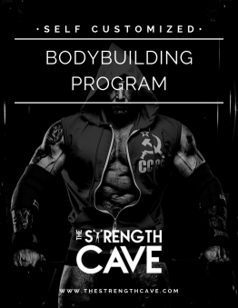 Bodybuilding strength training template