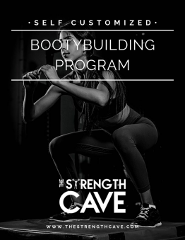 Booty Building Strength training template