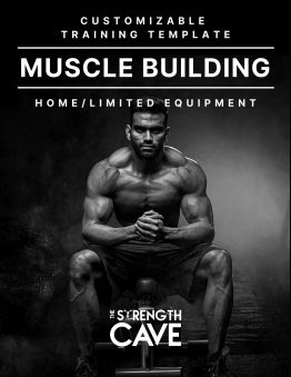 Build Muscle; Muscle Building training template