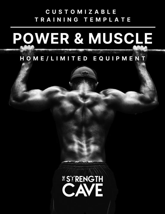 Power & Muscle Training Template