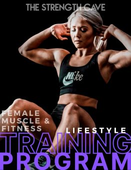 Lifestyle Fitness Female Muscle & Fitness training program