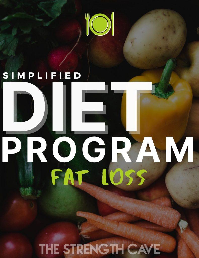 simplified fat loss diet program