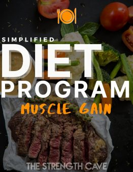 simplified muscle gain diet program