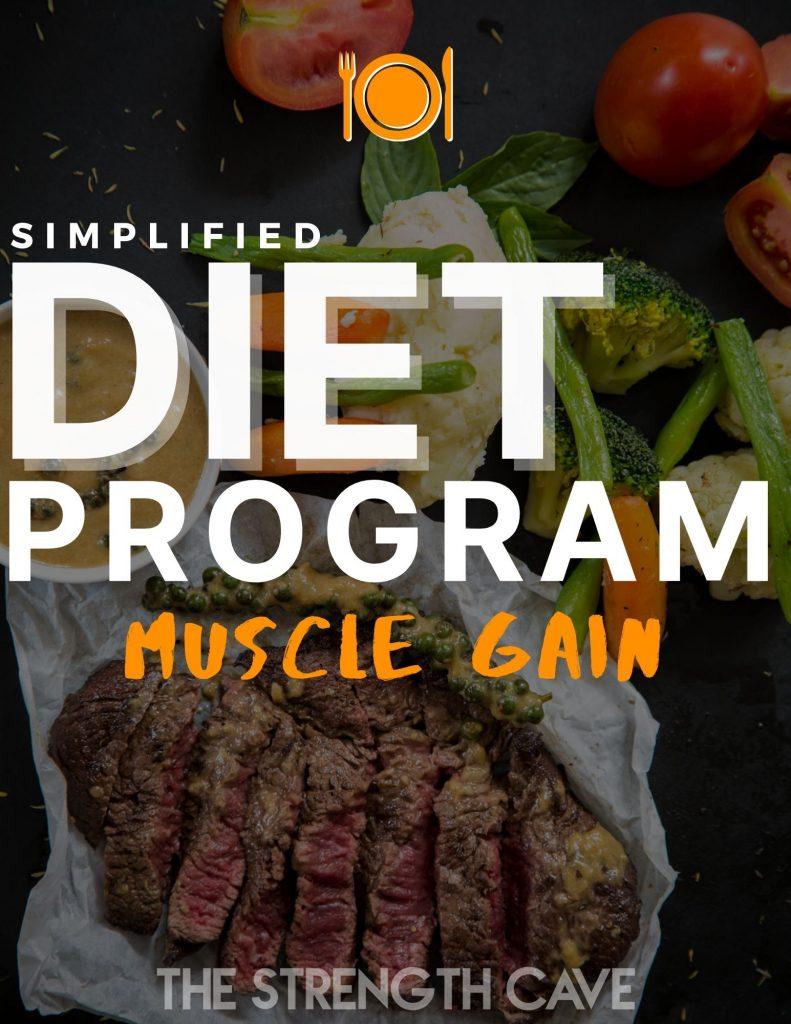 simplified muscle gain diet program