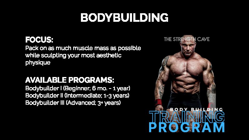 Bodybuilding Overview