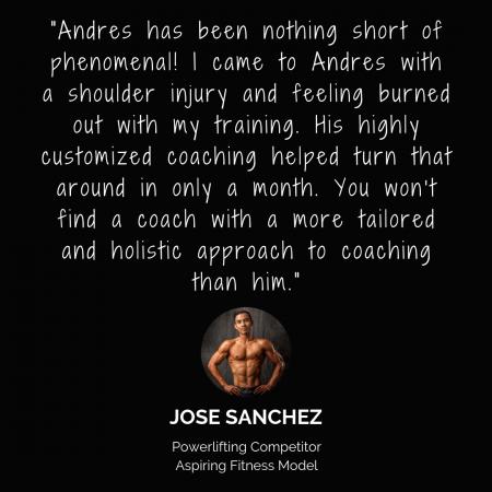 Jose Testimonial
