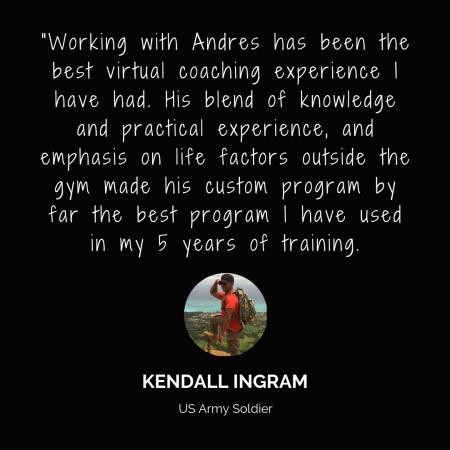 Kendall Testimonial