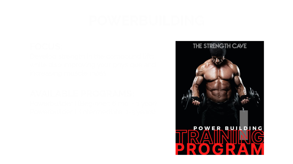 Power Building Overview